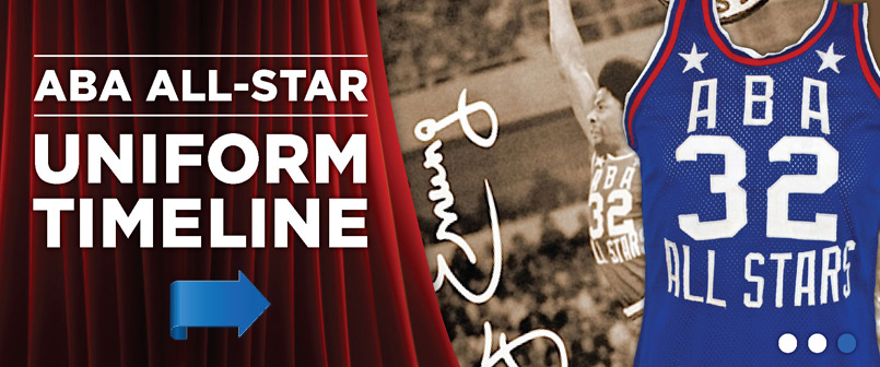 ABA All-Star Uniform Timeline
